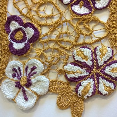 Romanian Point Lace Bring a Friend Along